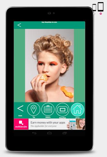 玩免費遊戲APP|下載Maquillaje de ojos bonitos. app不用錢|硬是要APP