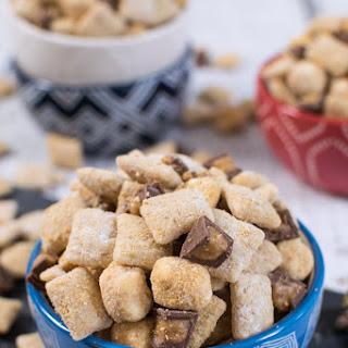 Peanut Butter S'mores Muddy Buddies