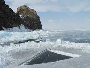 Photo: A hole for scuba diving