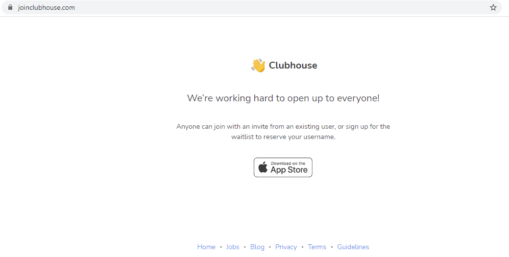clubhouse invitation link