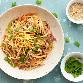 Teriyaki Rainbow Noodles.