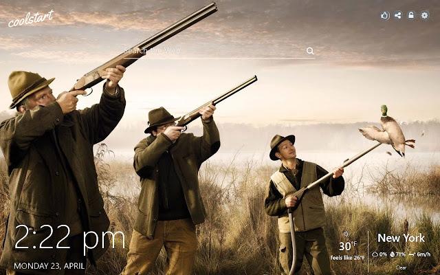Hunting HD Wallpapers New Tab Theme