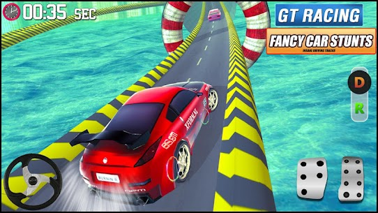 GT Racing Fancy Car Stunts : Insane Driving Tracks 6