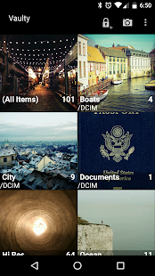 Hide Pictures & Videos - Vaulty: miniatura de captura de pantalla