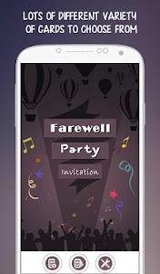Farewell Party Invitation v1.0.0