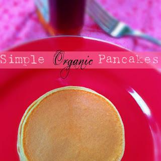 Simple Organic Pancakes.
