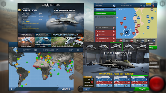 AirFighters MOD (All Planes Are Unlocked) 3