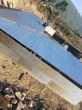 Photo: Corrugated Sheet Metal provided by COMMITTED was used to construct the TLC