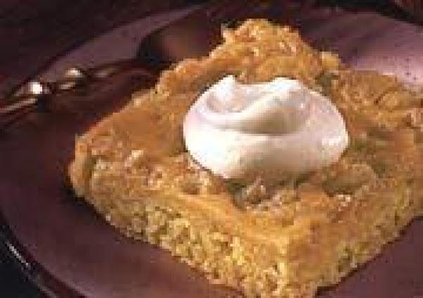 Pumpkin Spice Dessert With Spiced Whipped Cream Recipe