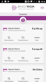 Banco Rioja APP - náhled