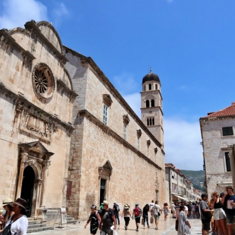 【世界の街角】美しい回廊やクロアチア最古の薬局があるドゥブロヴニクのフランシスコ会修道院