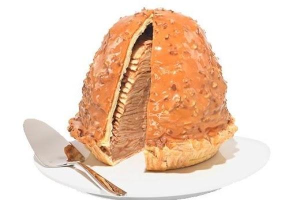 Caramel Pecan Levee High Apple Pie® Recipe