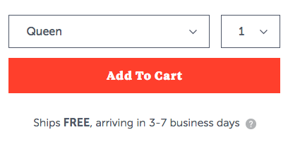 single cta for ecommerce landing page