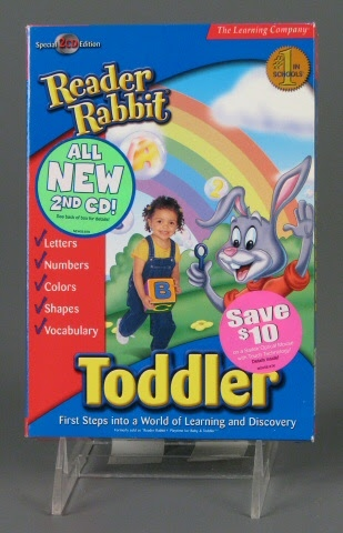 Video game product package:Reader Rabbit Toddler Product Package