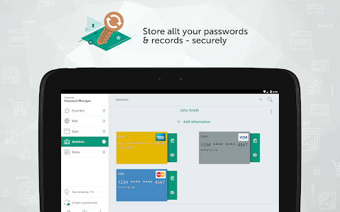 Kaspersky Password Manager- screenshot thumbnail