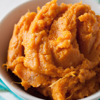Perfect Mashed Sweet Potatoes.