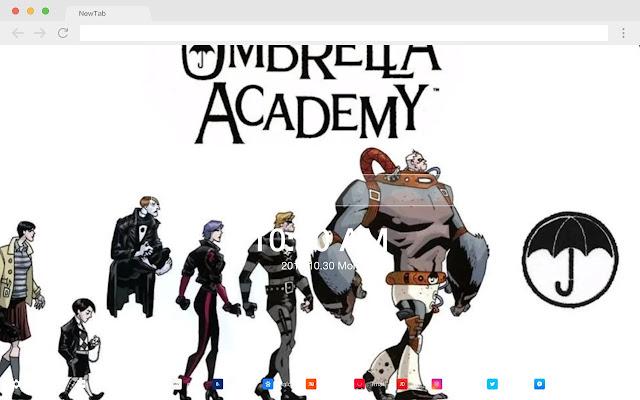 Umbrella Academy HD New Tabs Pop Theme