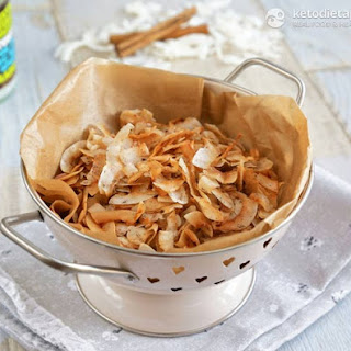 Spiced Coconut Chips for the Fat Fast