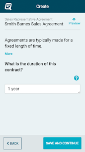 Quickly Legal - Contracts screenshot 1