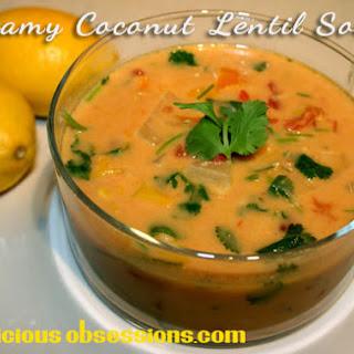 Creamy Coconut Lentil Soup