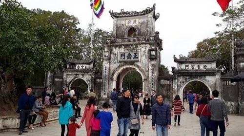 Đền Trần Nam Định trùng tu một số hạng mục