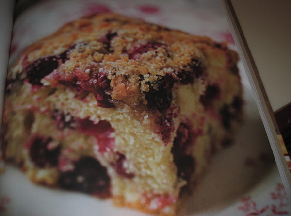 Cranberry Buckle With Vanilla Crumb Topping By Rr Recipe