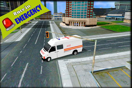 Ambulance Simulator Game - náhled