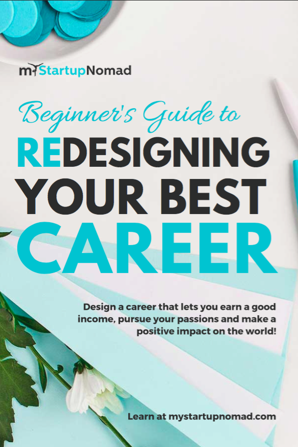 Beginner's Guide Redesigning Your Best Career My Startup Nomad