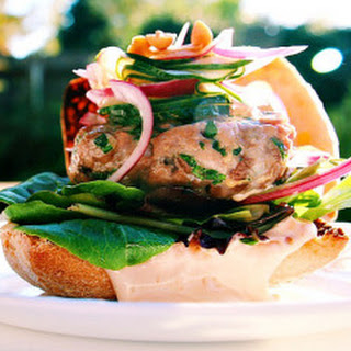 Thai Fusion Ahi Tuna Burgers