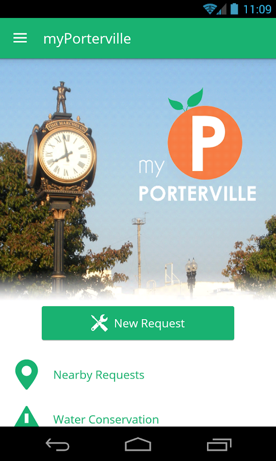 myPorterville- screenshot