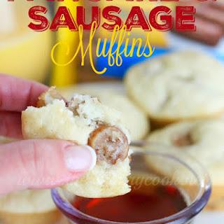 Pancake & Sausage Muffins