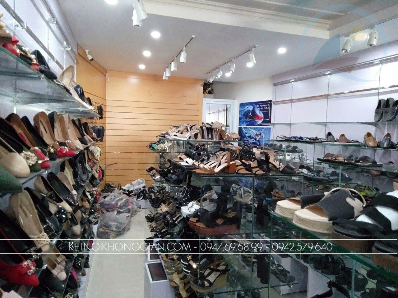thiết kế thi côngnội thất shop giày dép thời trang 5