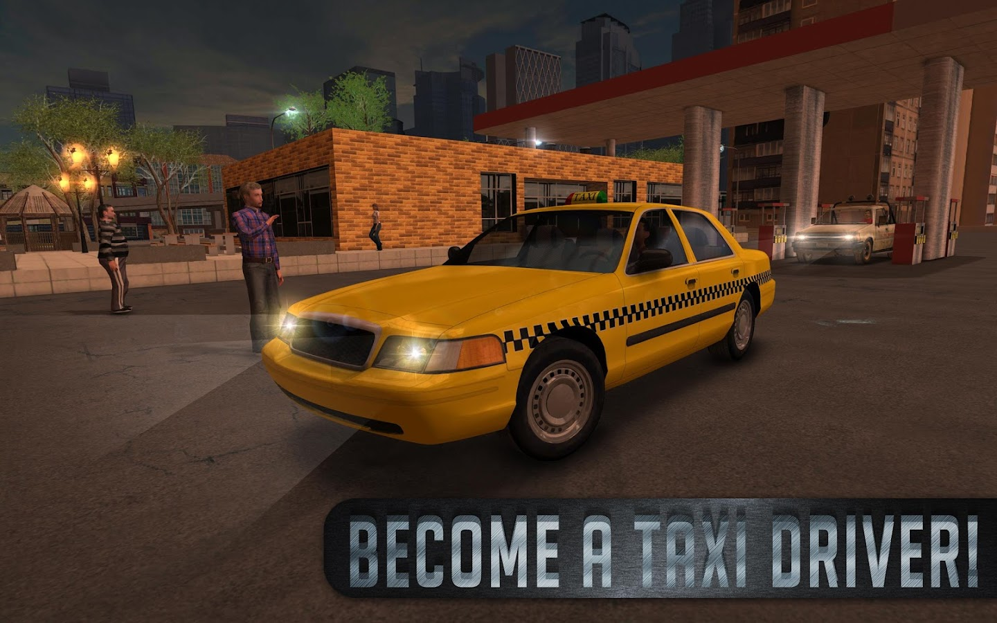 Taxi Sim 2016- screenshot