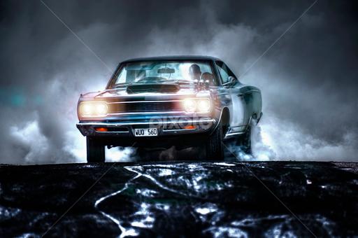 The Night Rider Automobiles Transportation Pixoto