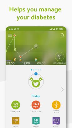mySugr - Diabetes App & Blood Sugar Trackerのおすすめ画像1