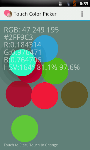 Touch Color Picker