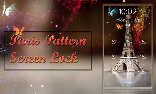Paris Pattern Screen Lock