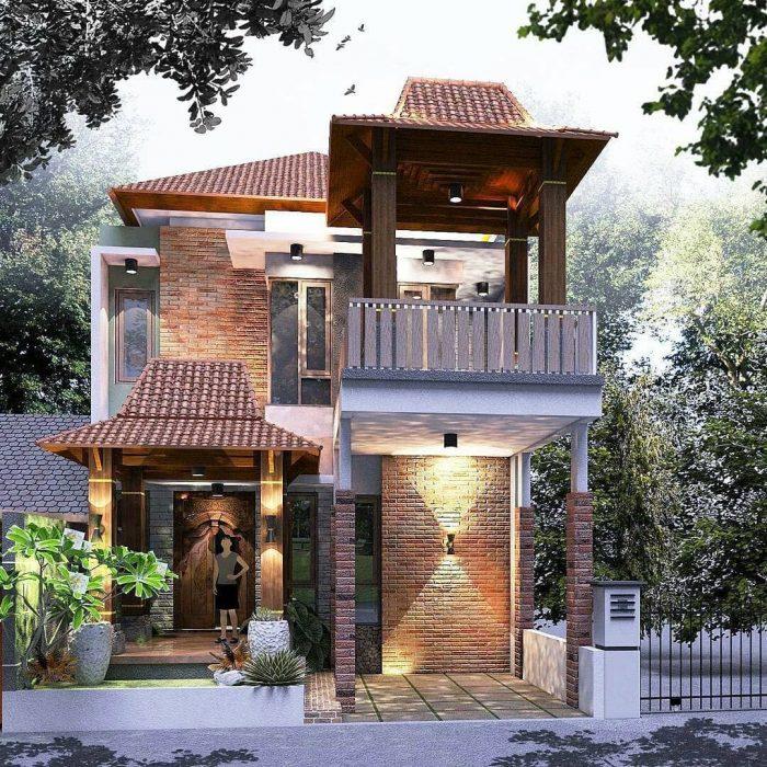 Contoh Desain Rumah Tradisional Jawa Modern Menarik Buat Ditiru Nih