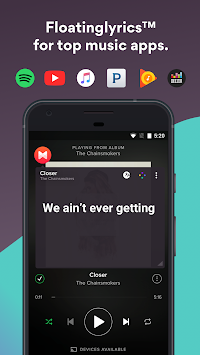 Musixmatch Music Player Letras APK screenshot thumbnail 2