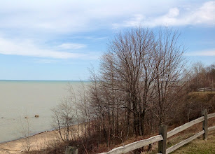 Photo: Lake Huron just south of Forestville, Michigan