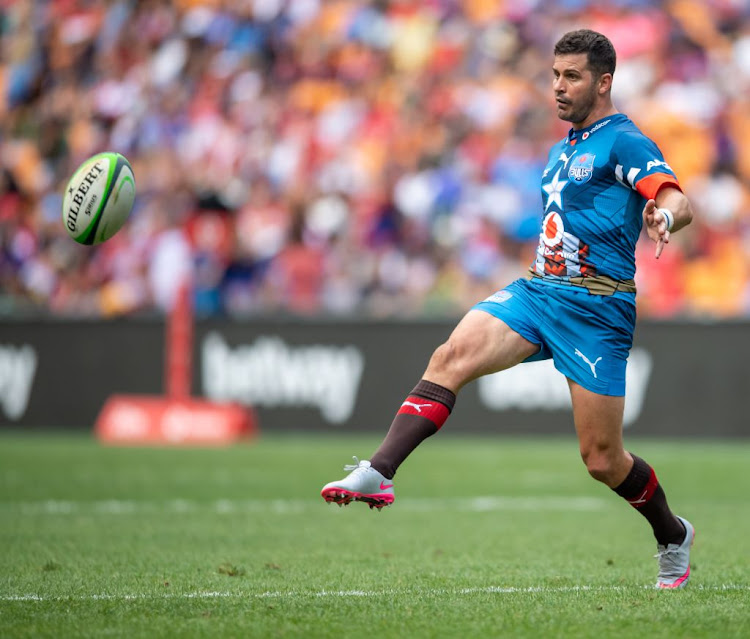Morne Steyn of the Bulls in action during the SuperHero Sunday match against the Lions at FNB Stadium on January 19 2020 in Johannesburg, South Africa.