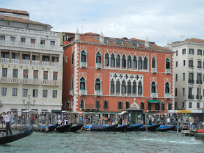 Photo: The Danieli, where Chris and I stayed 12 years ago on our first trip to Italy