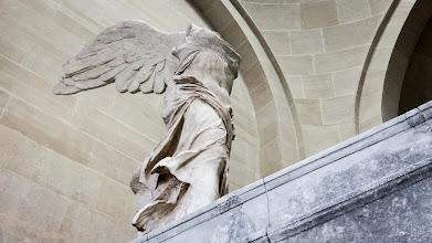Photo: Winged Victory of Samothrace