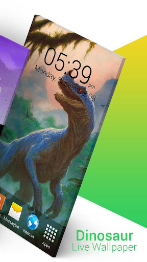 Dinosaur Live Wallpaper screenshot 6