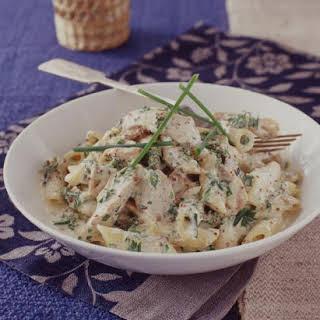 Creamy Mustard Chicken Pasta Recipes.