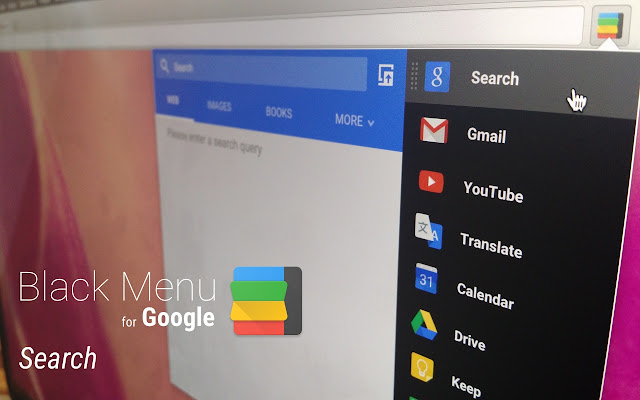 Black Menu for Google™