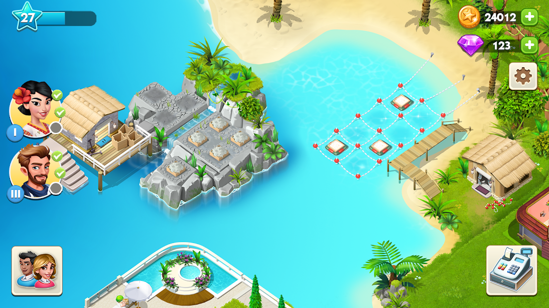 My Spa Resort: Grow, Build & Beautify Android App Screenshot