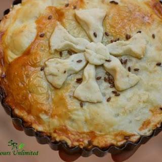 Chicken Mushroom Pie.