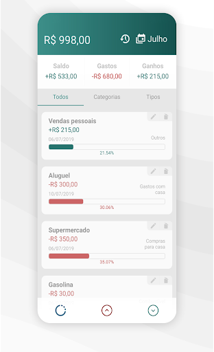Simples Controle Financeiro screenshot 3