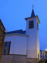 """Photo: Tour de """"chauffe"""" autour de l'église"""
